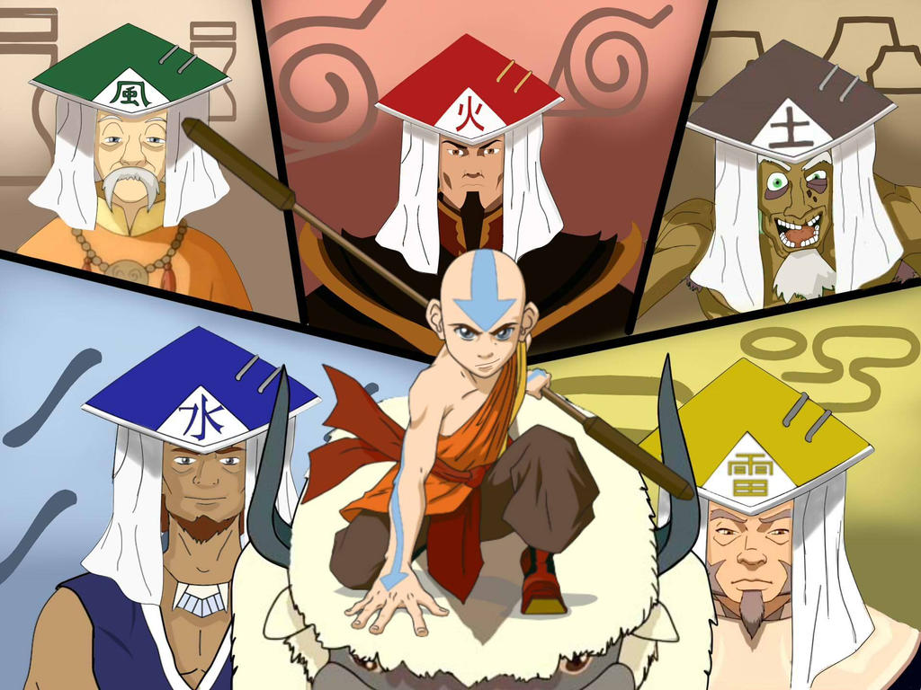 5 kages of avatar by nissimaharonov