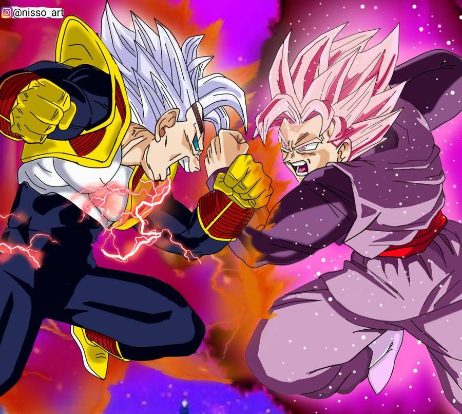 Baby Vegeta Vs Goku