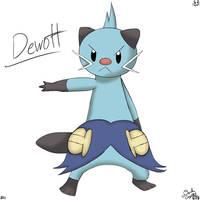 Dewott by DarkCrystal828