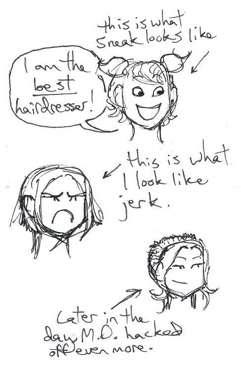 M.D.'s haircut by LB-Lee
