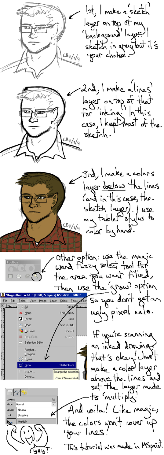 GIMP 'tutorial' by LB-Lee