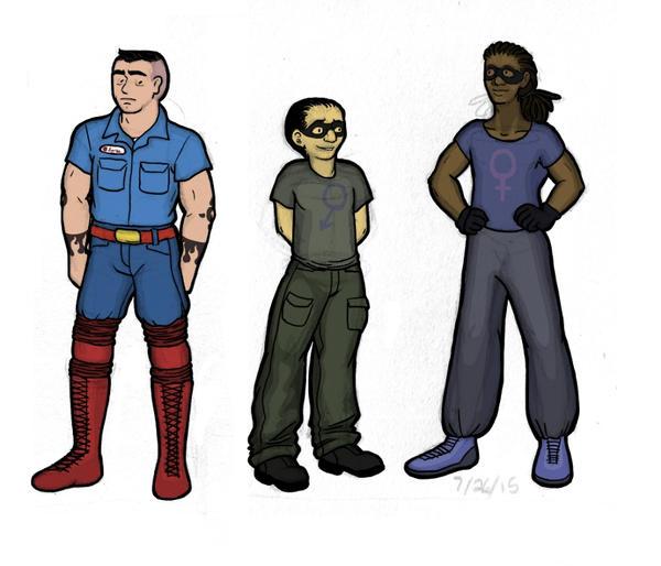 Battle the Universe designs by LB-Lee