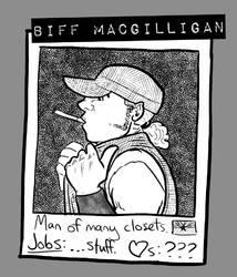B4 cast Biff by LB-Lee