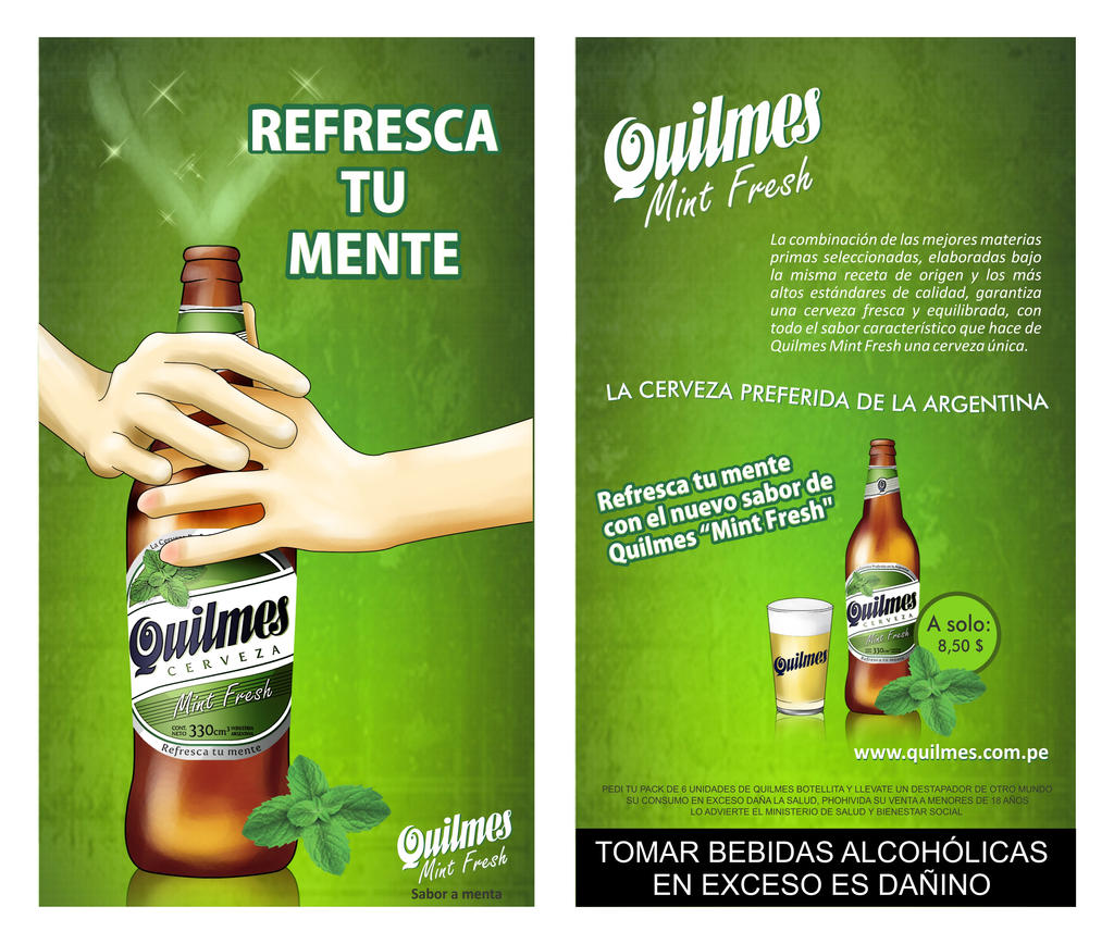 Quilmes Flyer by KrlosKmask