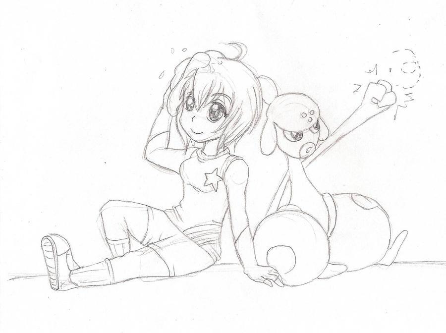 sketch 1 by KrlosKmask