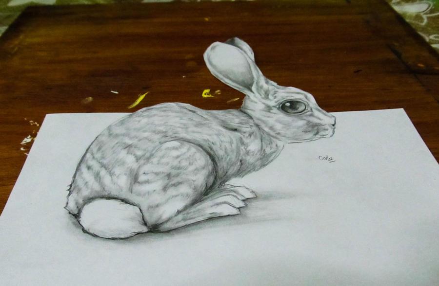 3D Rabbit by KrlosKmask
