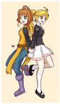 Yellow x Sakura by KrlosKmask
