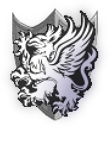 Neopets Sheild -Grey Warden- by XenFeather