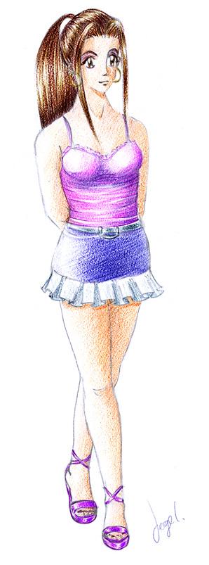Random girl 2 by Zefhar