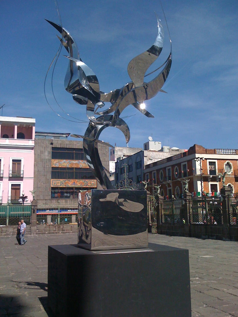 Puebla - Town Center by Dairen-Ryuu-Hino