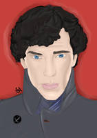Sherlock by pixiepot