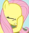 Fluttershy Face Hoof By Kutey8 D66loa2 By Dallasbl by DallasBlack