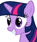 Twilight Sparkle  Looking Particularly Terrifying  by DallasBlack