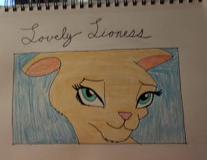 Lovely Lioness (Heavily Referenced Copy)