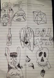 Random Silly Sketches