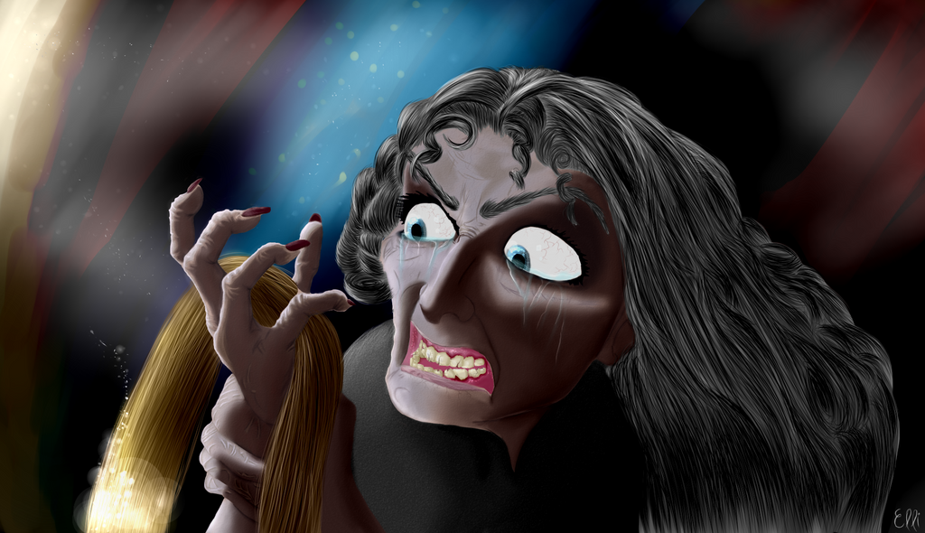 Mother Gothel's Death by EleanorNaomi