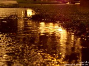 Setting Rain