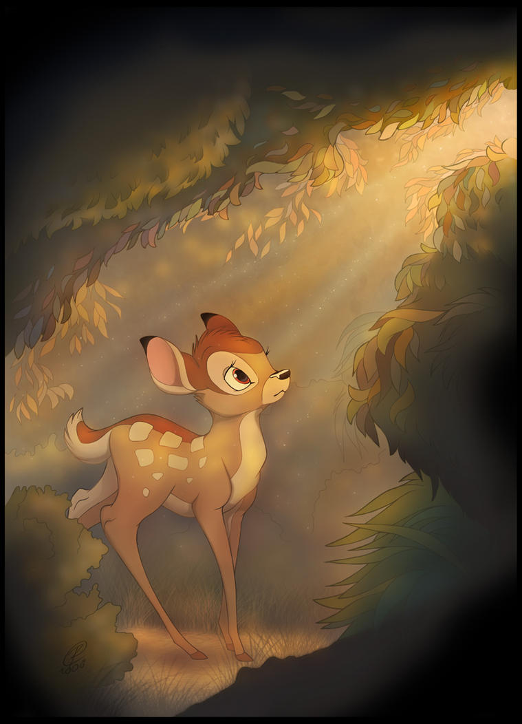 Bambi in the Light by RexKing