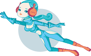 Sci fi doll