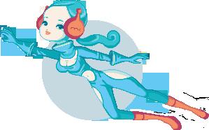 Sci fi doll by StarGirlArt
