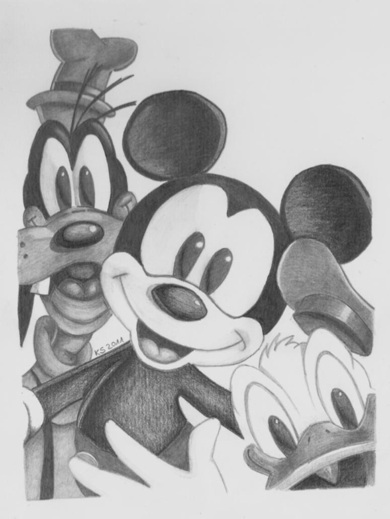 Mickey and friends by KerstinSchroeder