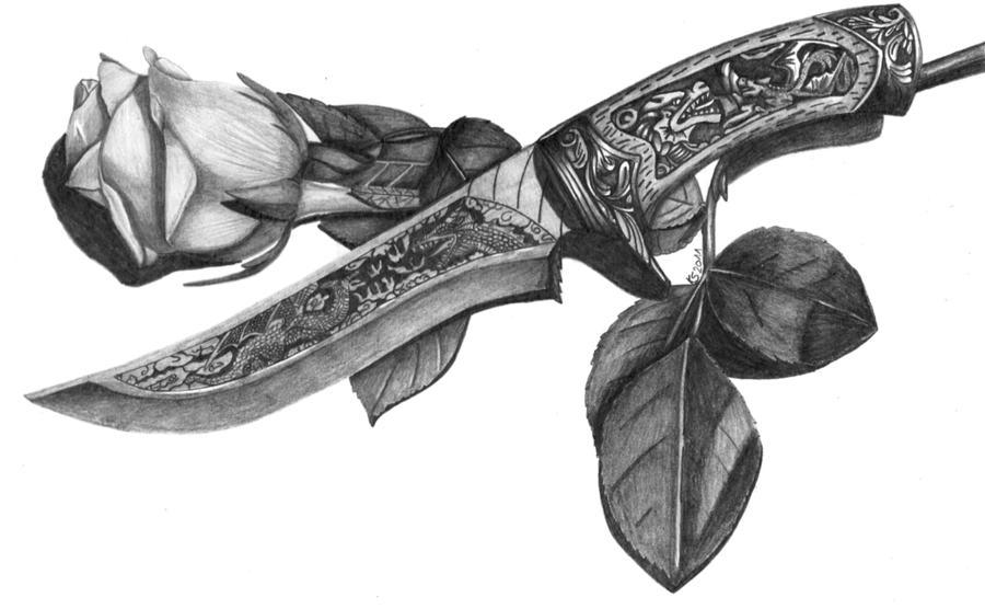 Blade and Rose by KerstinSchroeder