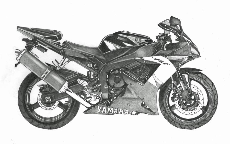 Yamaha R1 by KerstinSchroeder