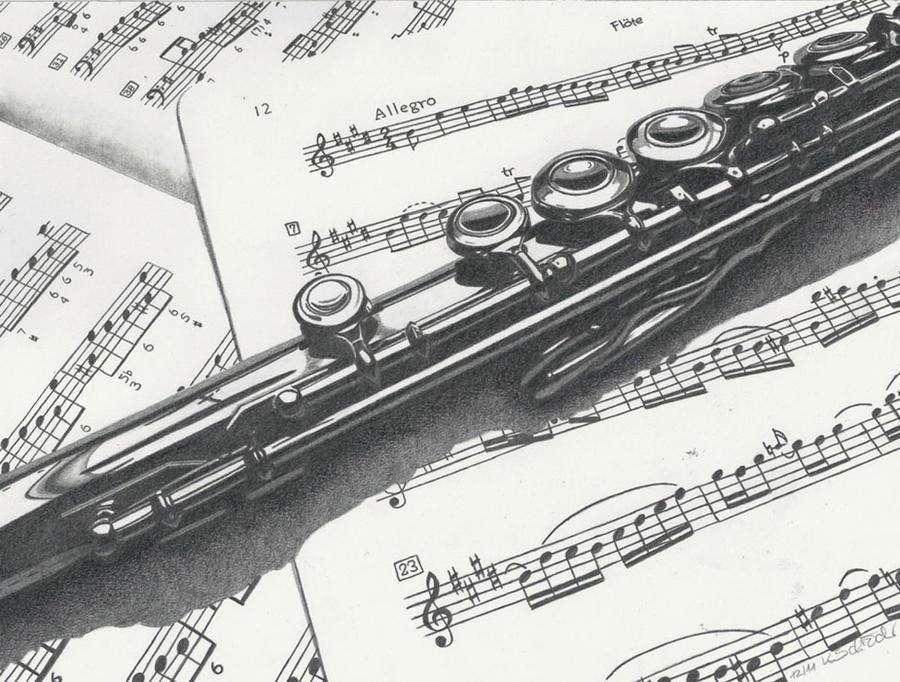 Flute by KerstinSchroeder