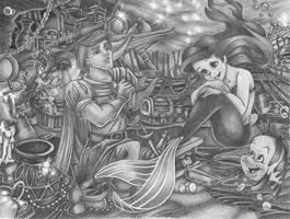 Ariel's Treasures by KerstinSchroeder