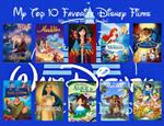 Top 10 Favorite Disney Movies