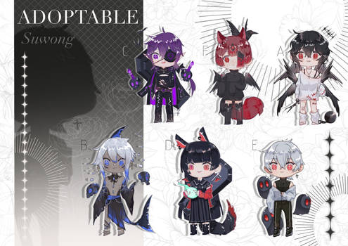 [OPEN] Adoptable by SUWONG A-F