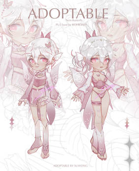 [OPEN] Twin butterfly Adoptable by SUWONG