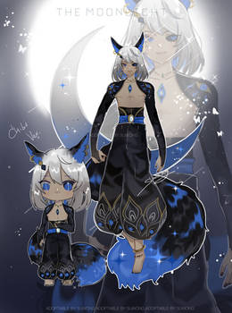 [OPEN] Adoptable by SUWONG-The  holy moon wolf