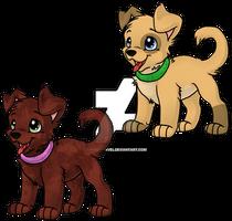 Dog puppys - Adoptable 2/2 [OPEN]