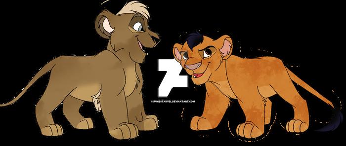 Cubs lion - Adoptable 2/2 [OPEN]