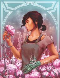 Cinder and Peonies by kathryngee