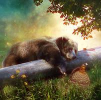 Honey Overload by SweetDreamsArt