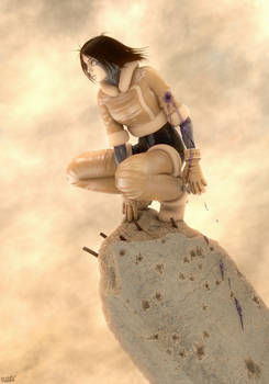 Alita Gally 3d GUNNM LO Cover4