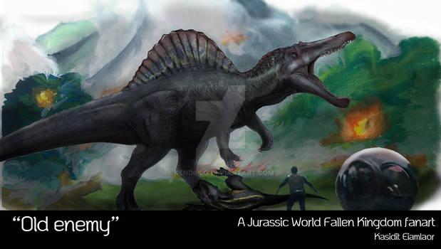 Spinosaurus VS Indoraptor