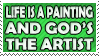 Life is a Painting Stamp 2