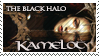 Kamelot - The Black Halo Stamp by dehydromon