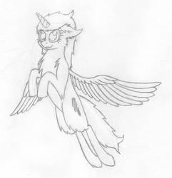 Alicorn Storm Gazer by dehydromon