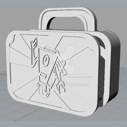 Claptrap Lunchbox Rhinoceros 3d model