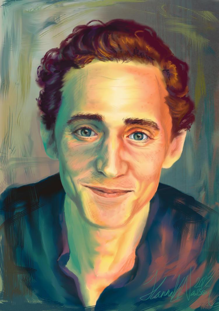 Tom Hiddleston by TheLittlestNewsom