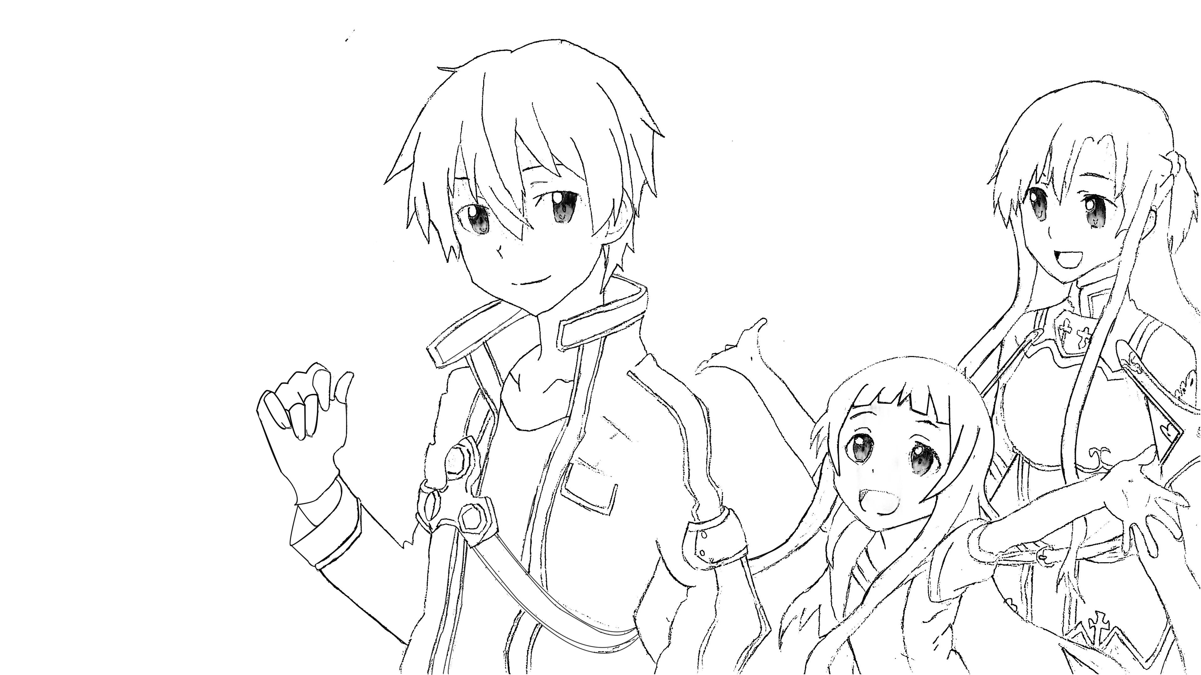The SAO Trio by CerealDuckOtaku on DeviantArt