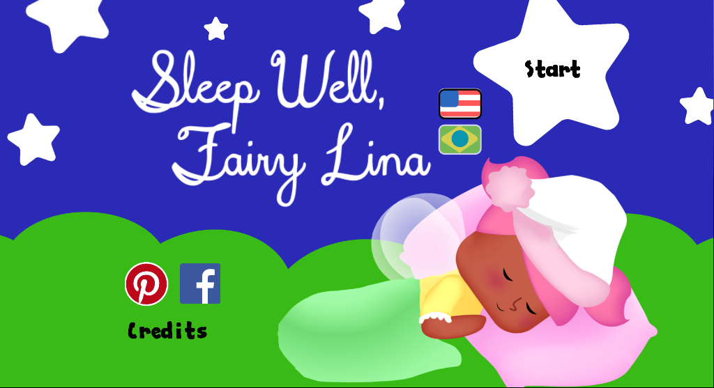 Sleep well, little fairy Lina by gianjos