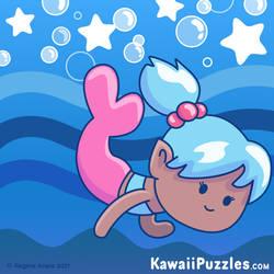 Kawaii Mermaid Puzzle