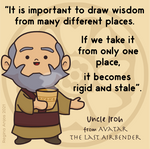 Uncle Iroh quote about wisdom by gianjos