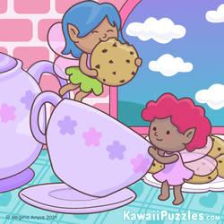 Fairy Tea Time (and cookies!)
