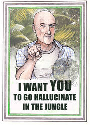 go hallucinate in the jungle by tigressinger